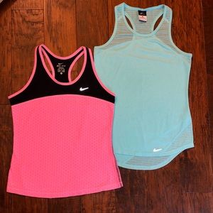 2 Women's Nike Tank tops, both size small**